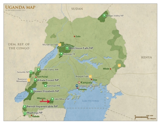 map-lake-mburo-national-park